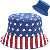 XYIYI Cute Bucket Hat Beach Fisherman Hats for Women, Reversible Double-Side-Wear