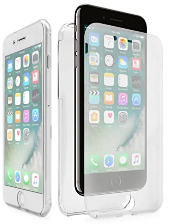 IPhone 7 Plus Case Bastex Slim Fit Front And Back Full Body Protective Crystal Two