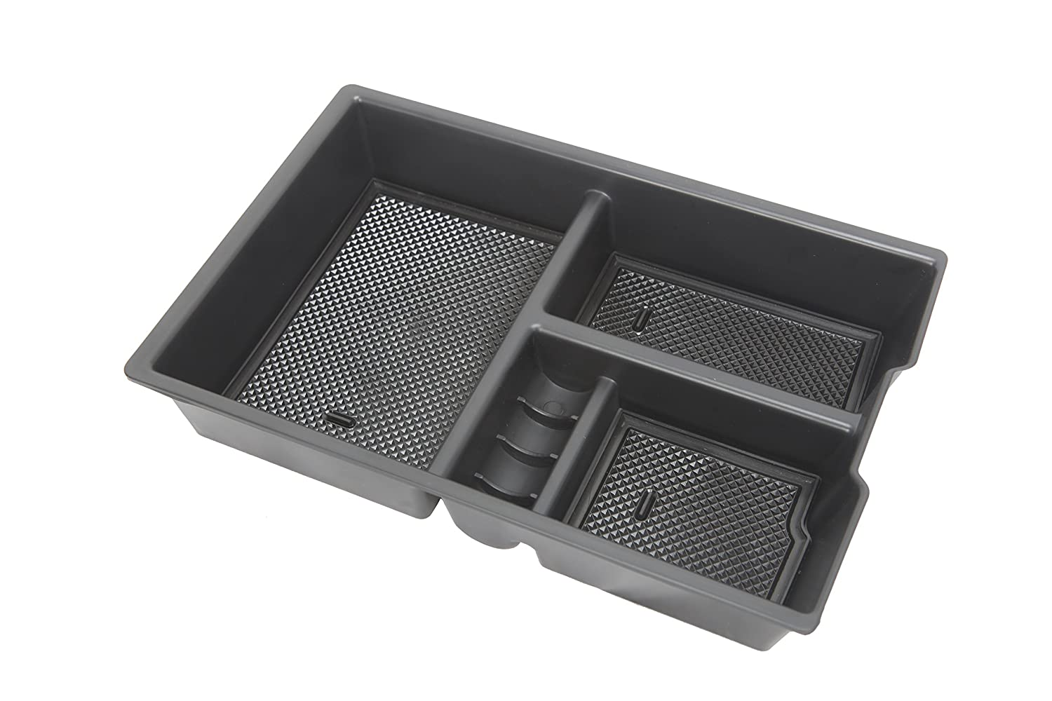Salusy Car Center Console Armrest Storage Box Tray for Dodge RAM 1500 2009-2018 4350415656