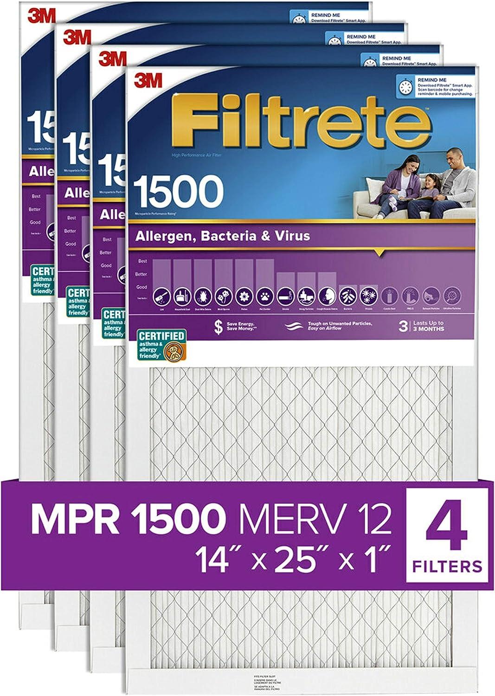 Filtrete Healthy Living - Filtro, 2004-4PK: Amazon.es: Bricolaje y herramientas