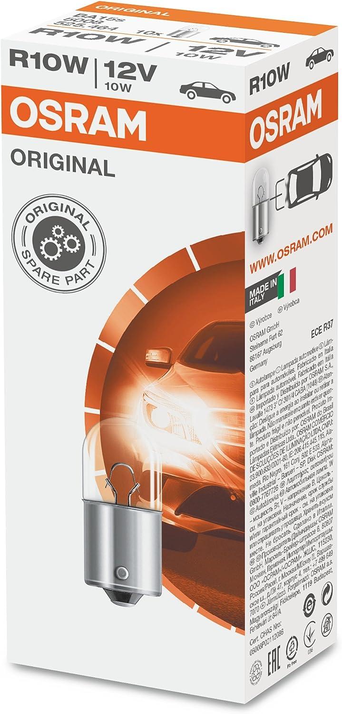 Aerzetix 10 ampoules 12V 10W R10W BA15S