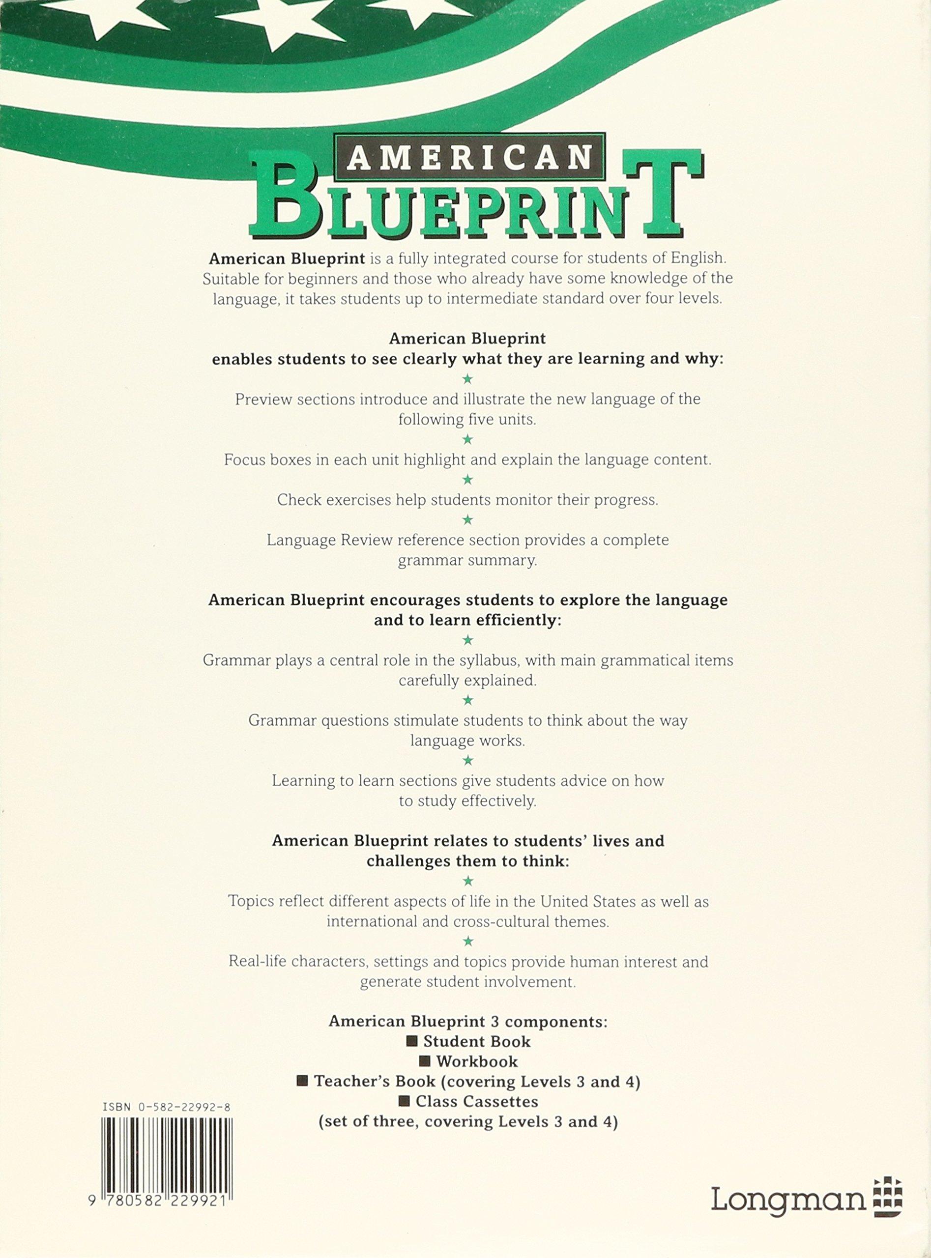 American blueprint workbook 3 brian abbs ingrid freebairn american blueprint workbook 3 brian abbs ingrid freebairn 9780582229921 amazon books malvernweather Gallery