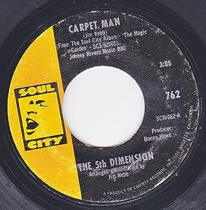 """45vinylrecord Carpet Man/The Magic Garden (7""""/45 rpm)"""