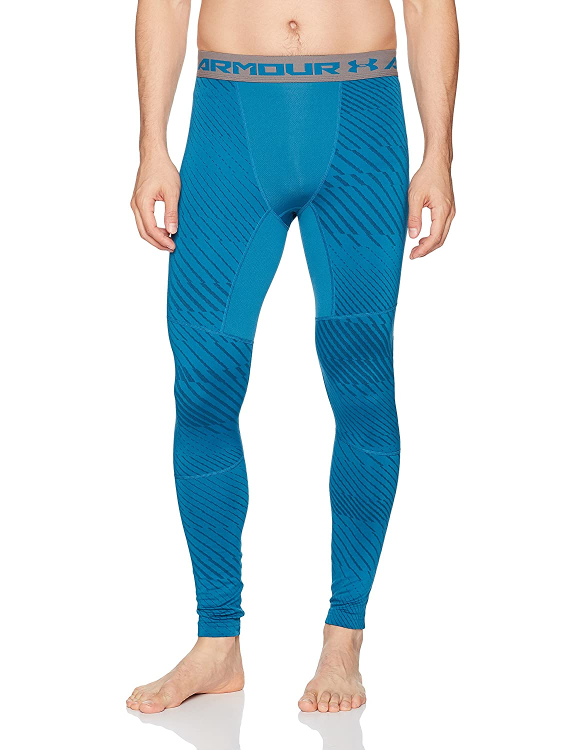 Under Armour Cg Armour Jacquard Legging - Bayou Blau//Graphite