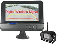 4U Cam Digital Wireless Camera + 7-inch Monitor
