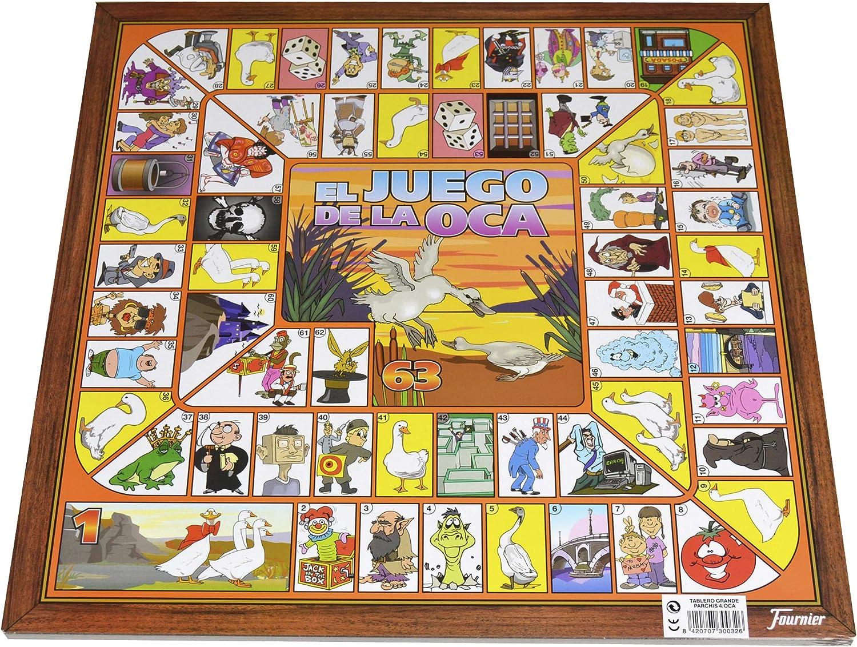Fournier Parchis y Oca 33x33 cm Tablero, Multicolor, única (521111): Amazon.es: Juguetes y juegos