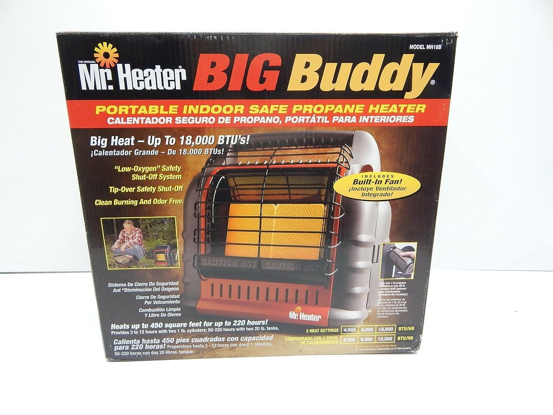 Amazon.com: Mr Heater MH18B Big Buddy Portable Heater 18000 ...