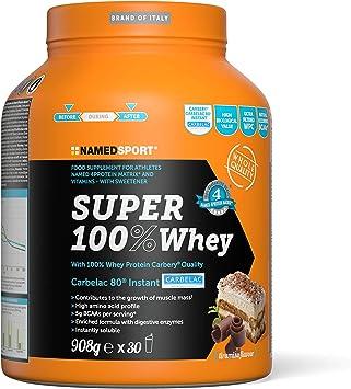 Llamado Super Sport 100% de proteína de suero de leche Suero Sabor 908g de Tiramisu