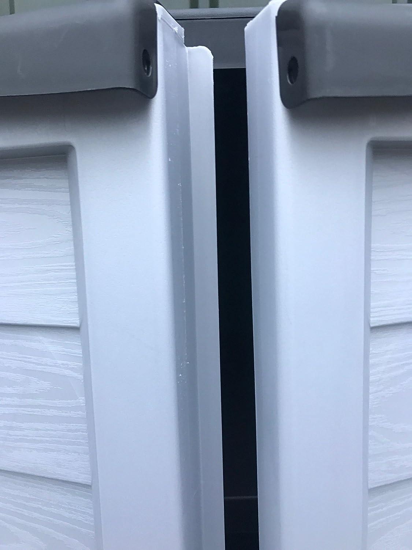 Starplast Cabinet Outdoor Garden Storage With Shelves Black /& Grey