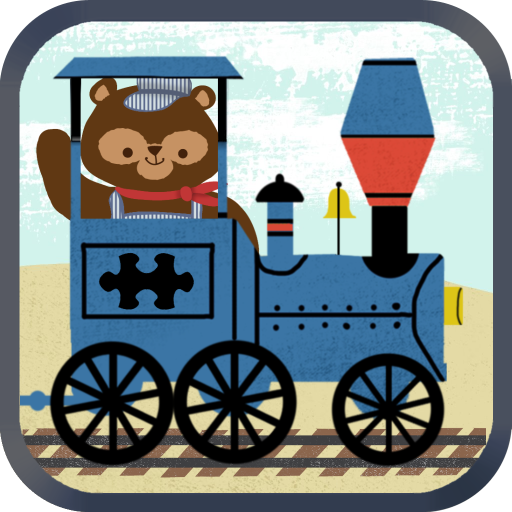 Train Games for Kids: Zoo Railroad Car Puzzles HD - The Best Cool and Fun Animated Puzzle Game for Preschool, Kindergarten, and Young Children - (Animated Wood)
