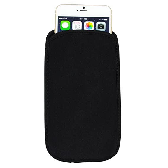 purchase cheap 2471b 75de8 SumacLife Universal Neoprene Cellphone Pouch Case for 4.5-5.1