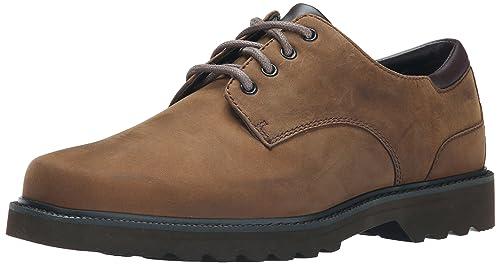 Rockport Zapato Vestir Impermeable Evander, Negro, 50