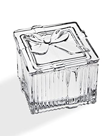 Amazon Com Godinger Crystal T Box With Bow Holiday Jewelry