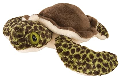 Amazon Com Wild Republic Ck Mini Sea Turtle Baby 8 Plush Toys Games