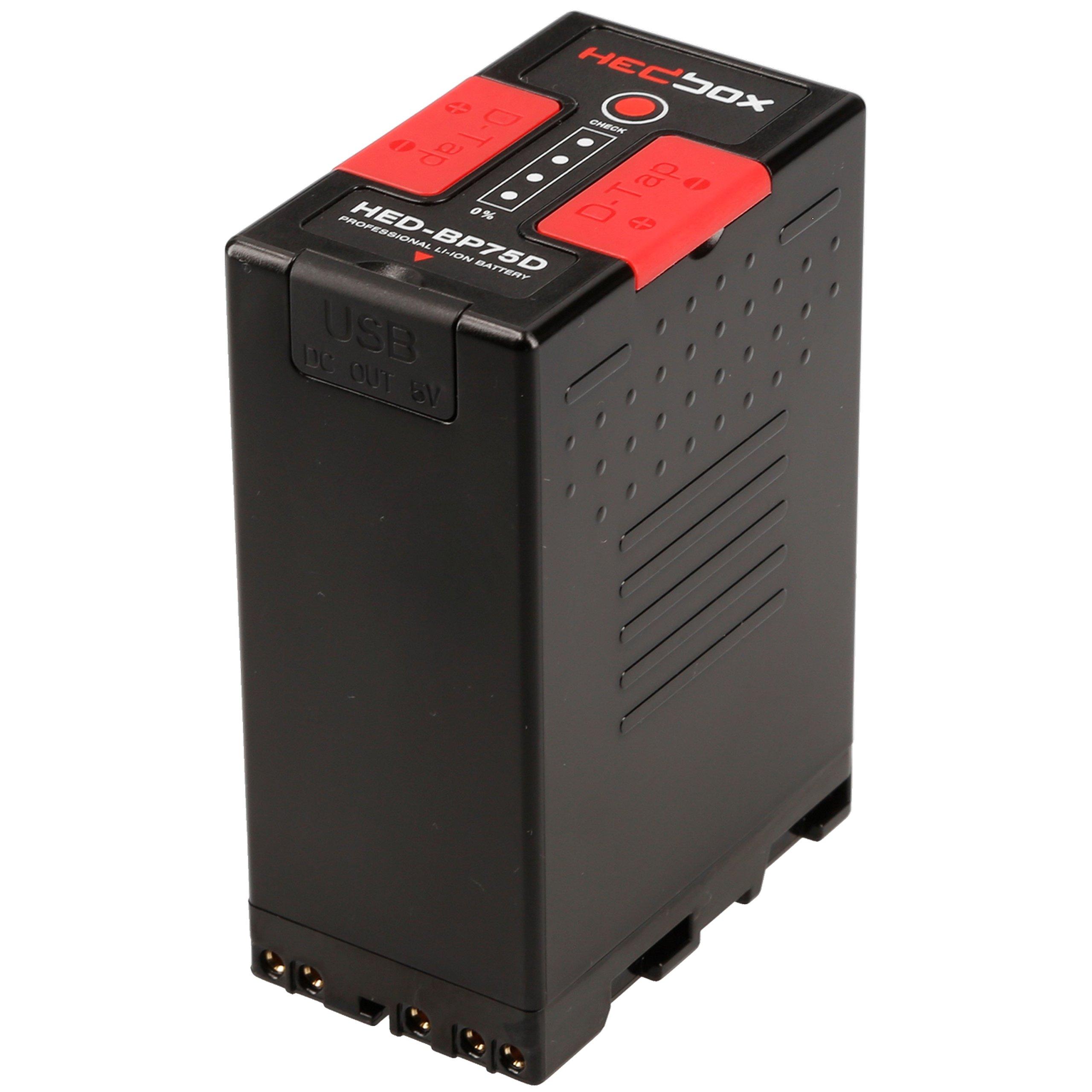 Hedbox HED-BP75D Sony BP-U Lithium-Ion High Capacity Battery Pack, 5200mAh