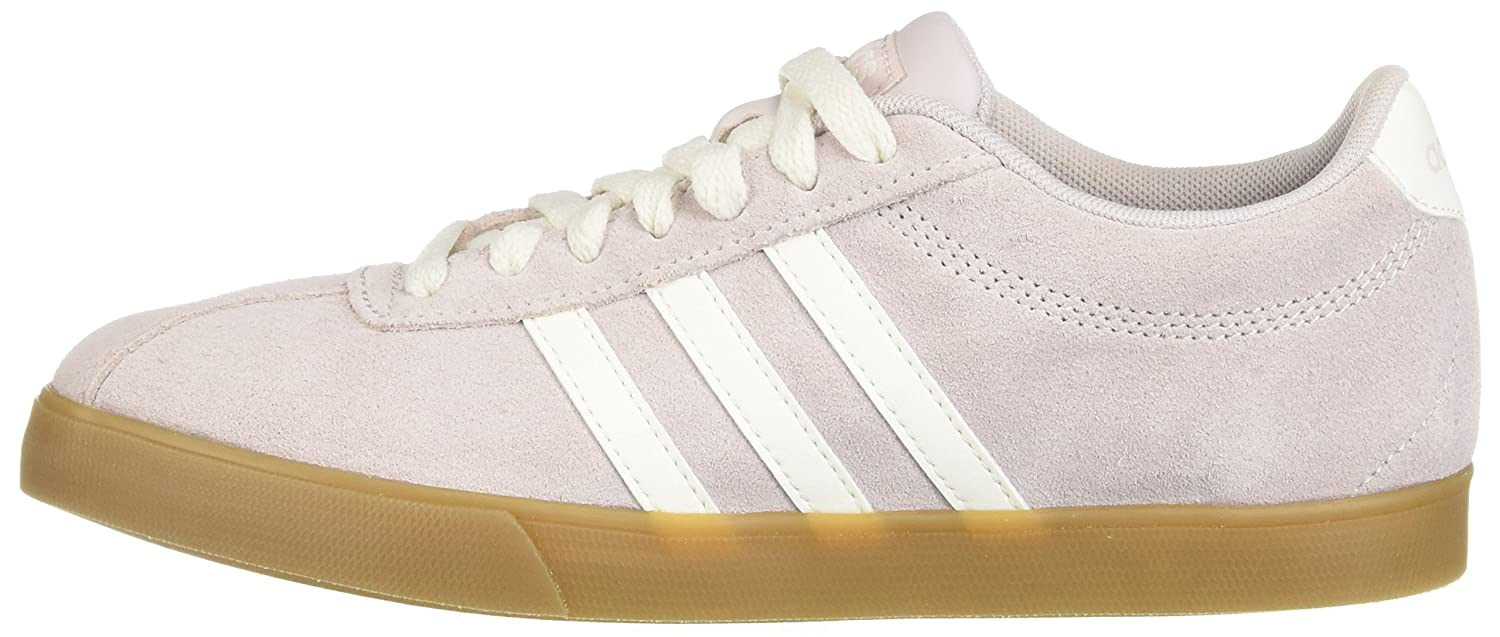 adidas Women's Courtset Sneaker B077X9VQHD 8 M US|Ice Purple/Cloud White/Ice Purple