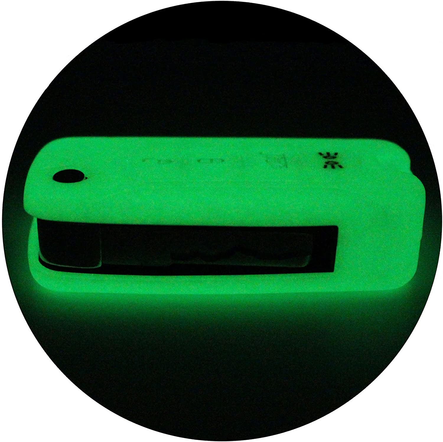 Silicone keycover JA for 4 Button Keys Keycover Etui Flip Key protective cover Remote Entry Fob Case night glow