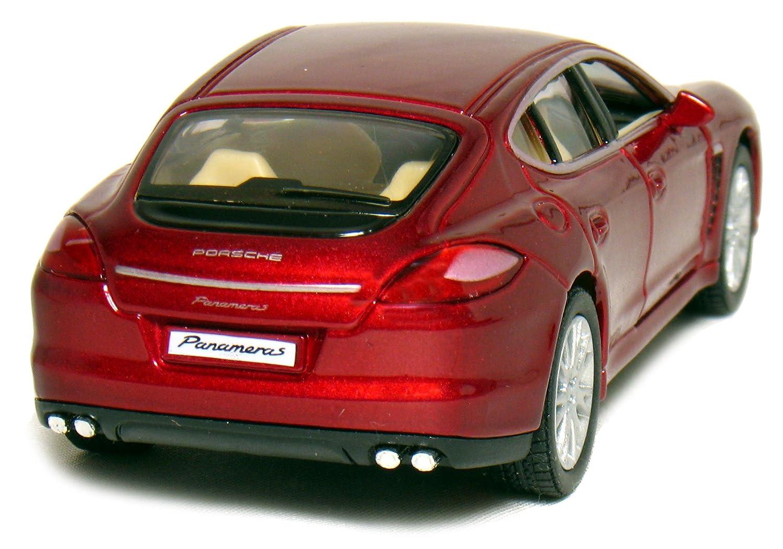 Red 5 Porsche Panamera S 1:40 Scale Kinsmart KT5347D-Red