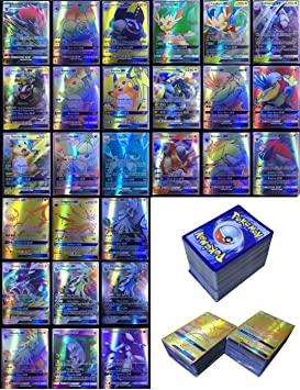 Dorara 200 Piezas Pokemon Tarjetas GX sin repeticiones, Tarjetas ...