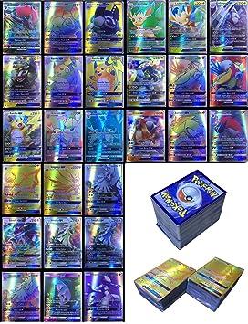 Dorara 200 Piezas Pokemon Tarjetas GX sin repeticiones ...