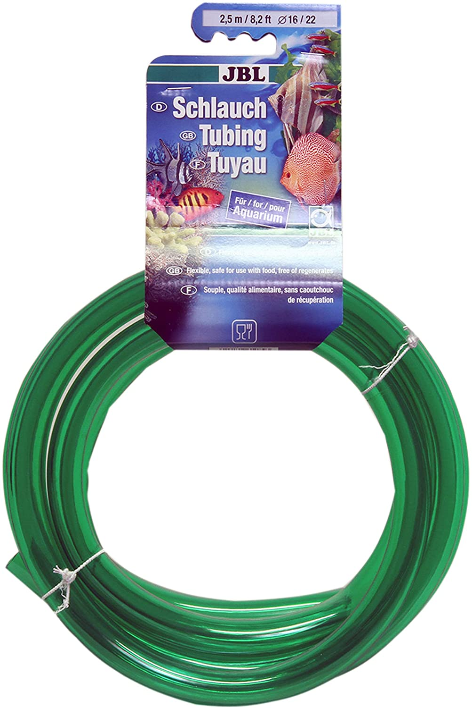 JBL Tube 2.5 m length 16//22 mm diameter Water hose for aquariums green