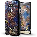 LG G5 Cover,Lizimandu Creative 3D Schema UltraSlim TPU Copertura Della Cassa Del Custodia Case Tacsa Protettiva Shell per lg g5(Fiore Blu/Blue Flower)