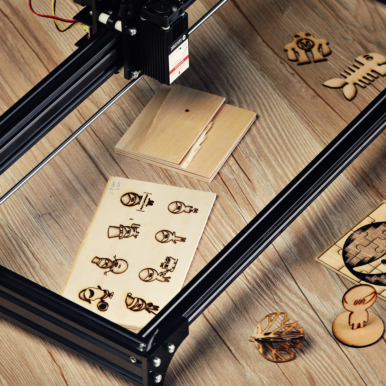 Arts Wood Burning Laser Cutting DIY Crafts Ideal for CNC Genmitsu CNC Materials Premium Poplar Plywood 8Pcs 1//5 x 7 x 4 Inches