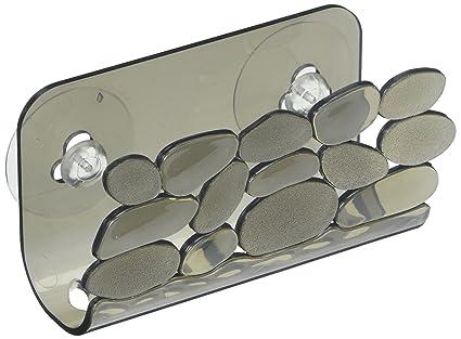 Porta Spugne Da Bagno : Interdesign pebblz portaspugne cestino pensile ideale per