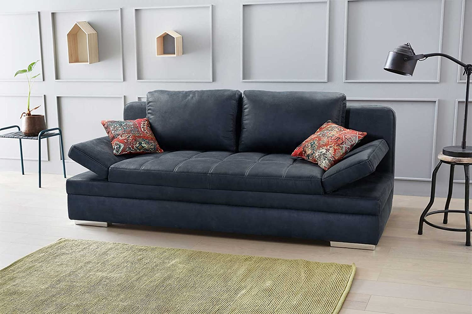 ausziehbare couch mit bettkasten interesting schlafsofa laura with ausziehbare couch mit. Black Bedroom Furniture Sets. Home Design Ideas