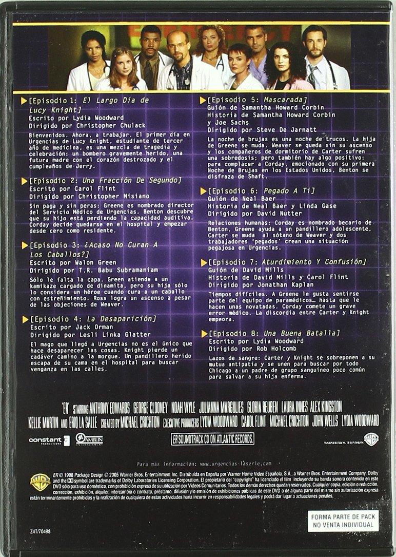 Urgencias. Serie 5 [DVD]: Amazon.es: Anthony Edwards, Alex ...