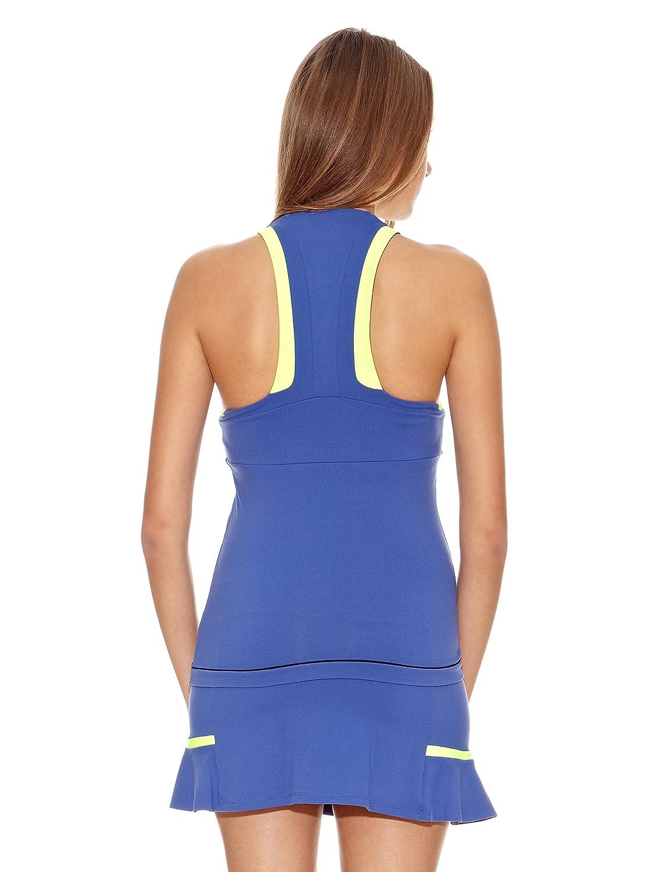 Naffta Camiseta Tenis/Padel Azul Noche/Amarillo Flúor XS ...