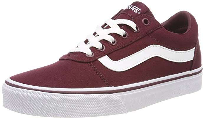 Vans Ward Sneakers Canvas Damen Weinrot (Burgundy)