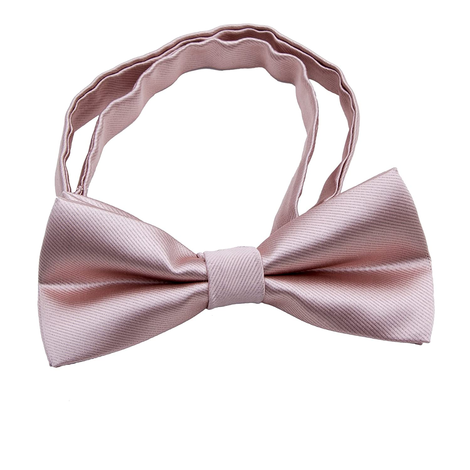 Silk Bow ties for Kids Boys - Adjustable Pre Tied Bowties for Toddler Baby 198705088925
