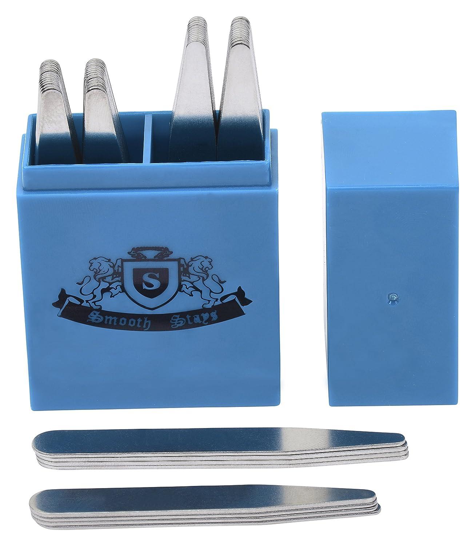 50 Premium Metal Collar Stays in Divider Box 2 Most Popular Sizes