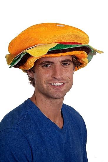 Amazon.com  19722 Cheeseburger Hat Cheeseburger in Paradise Hat Jimmy  Buffet 7 3 8 58-59cm  Clothing a93dd8ece2e