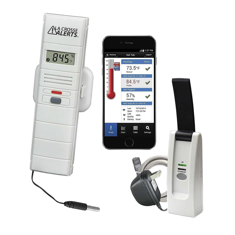 La Crosse Technology 926-25106-WGB Wireless Monitor System Set w/Wet Probe