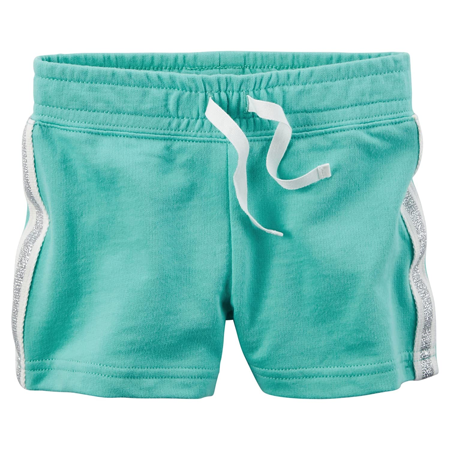 Carters Baby Girls French Terry Shorts 9 Months, Turquoise