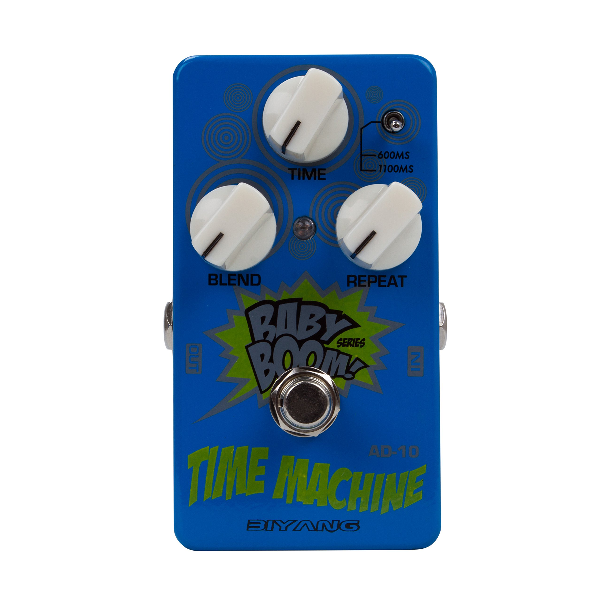Chichitop Biyang Baby Boom AD-10 Electric Guitar Super Delay Effects Pedal Time Machine Analog by Chichitop