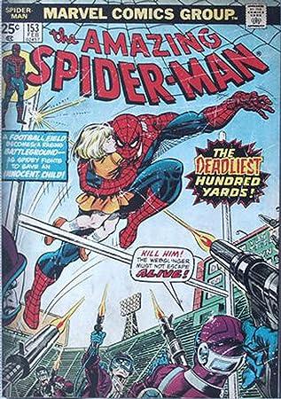 Amazon.com: Silver Buffalo MC9036 Marvel Comics Spider-Man Web ...