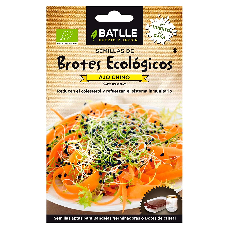 ScoutSeed El ajo orgánico chino brota las semillas Batlle (6g ...