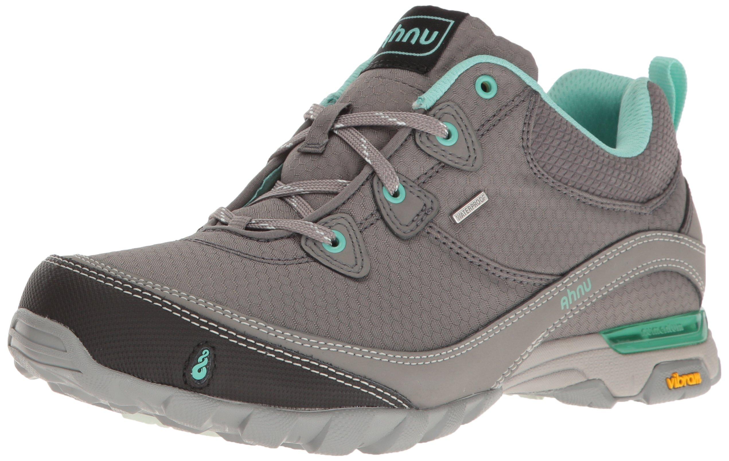 Ahnu Women's W Sugarpine Waterproof Hiking Shoe, New Dark Grey, 10 M US