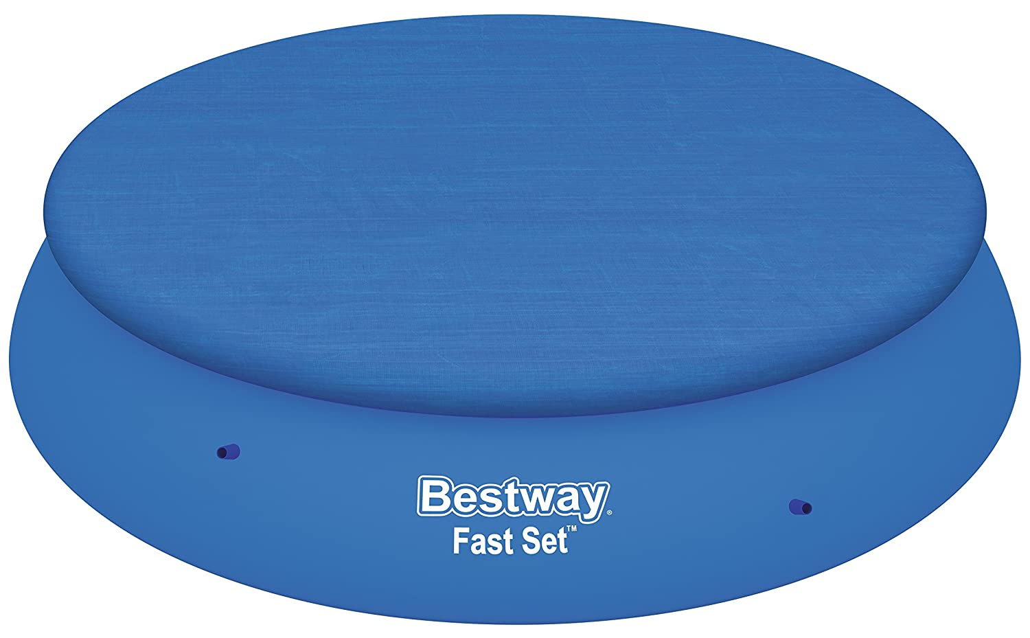 Bestway 58415 Bâche de Protection pour Piscine Fast Set Ronde, 396 cm 58415-05