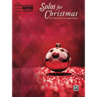 The Professional Pianist - Solos for Christmas: 50 Advanced Arrangements book cover