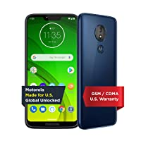 Moto G7 Power with Alexa Push-to-Talk – Unlocked – 32 GB – Marine Blue (US Warranty...