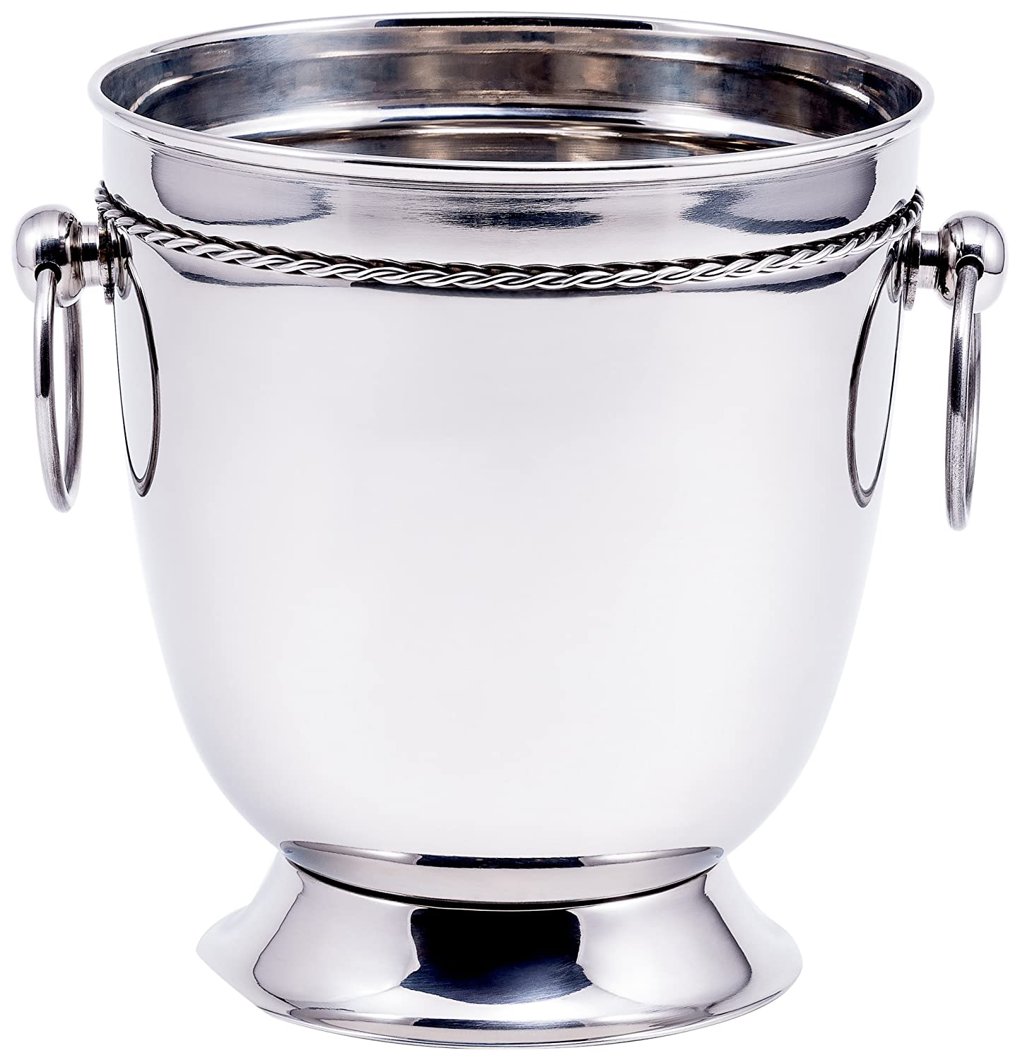 Old Dutch International Champagne Bucket, Stainless Steel 1122