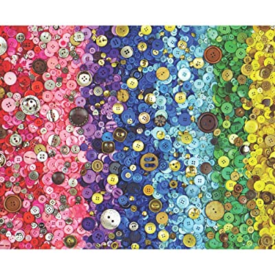 Springbok 1000 Piece Jigsaw Puzzle Bunches of Buttons: Toys & Games