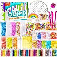 KUUQA 61 Pcs Slime Kit, incluyendo Fishbowl Beads