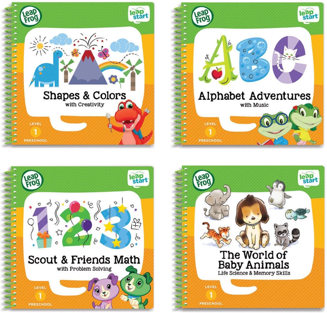 colores y creatividad actividad Libro De Aprendizaje leapstart BN Leapfrog formas