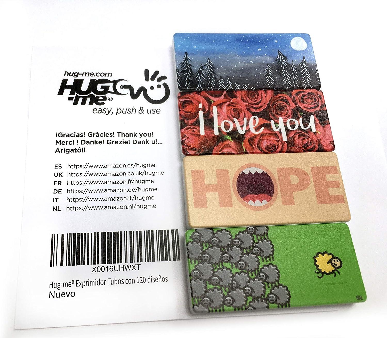 Le presse-tube Hug Me/® pour dentifrice Kit de 4 unit Mod/èles au hasard parmi 120 mod/èles vari/és cr/é/és par 12 artistes cr/ème et colle vous permettra de bien profiter de tout le contenu de vos tubes