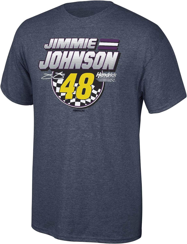 NASCAR Mens Fan Favorite Checkered Flag Cotton Short Sleeve Tee